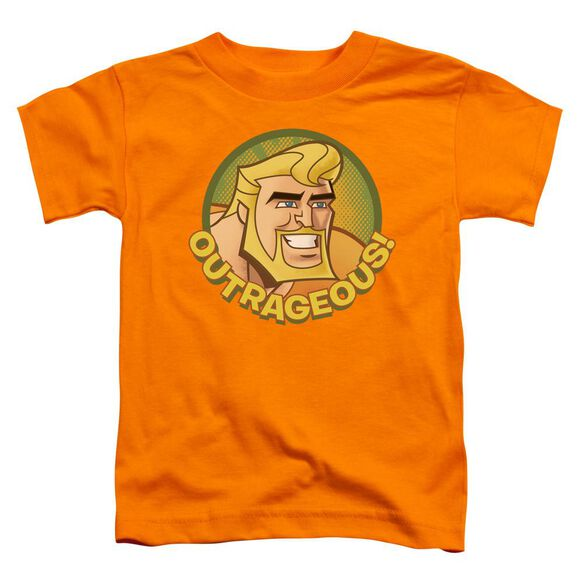 Batman Bb Outrageous Short Sleeve Toddler Tee Orange Md T-Shirt
