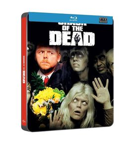 Shaun Of The Dead [Exclusive Blu-ray Steelbook]
