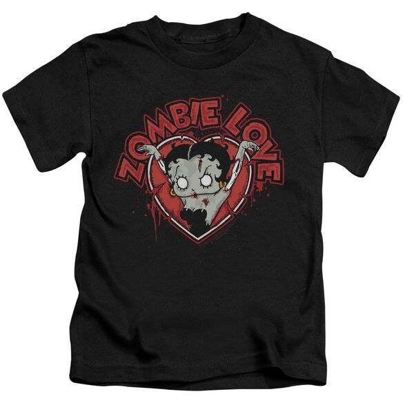 Betty Boop Heart You Forever Short Sleeve Juvenile T-Shirt