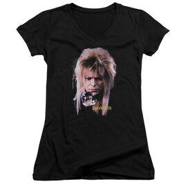Labyrinth Goblin King Junior V Neck T-Shirt