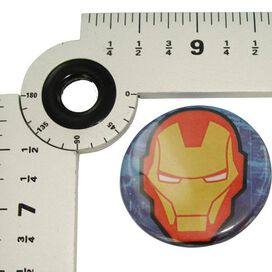 Iron Man Mask Button