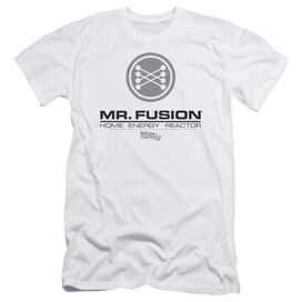 Back To The Future Ii Mr. Fusion Logo Short Sleeve Adult T-Shirt