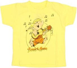 Dennis the Menace Guitar Infant T-Shirt