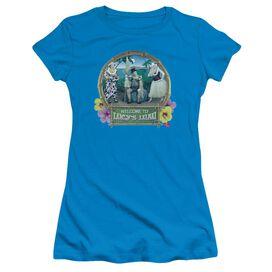 I Love Lucy Lucy's Luau Short Sleeve Junior Sheer T-Shirt