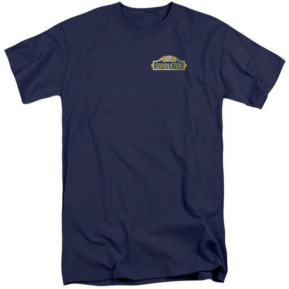 Polar Express Conductor Short Sleeve Adult Tall T-Shirt