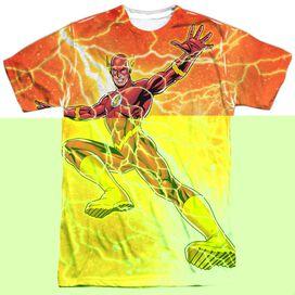 JLA FAST AS LIGHTNING-S/S ADULT T-Shirt