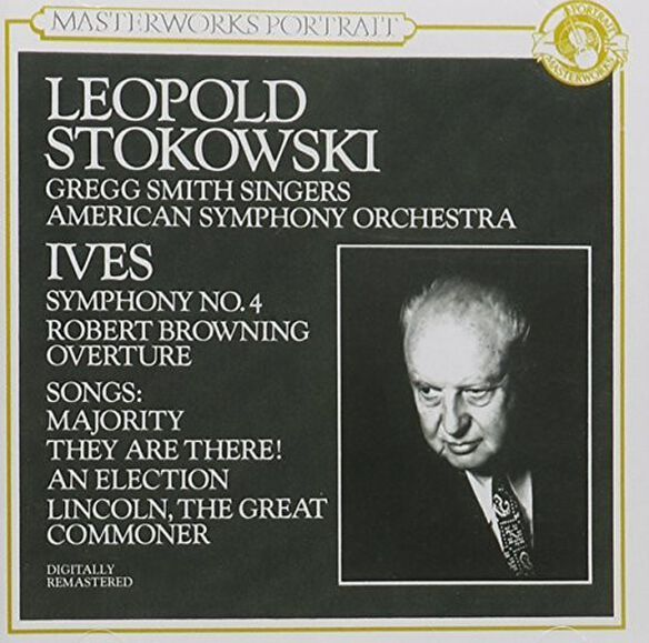 Ives/ Stokowski/ American Sym Orch - Sym No 4,Browning