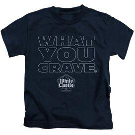 White Castle Craving Short Sleeve Juvenile T-Shirt