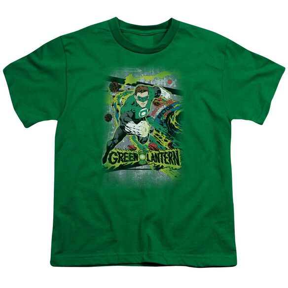 DC SPACE SECTOR 2814 - S/S YOUTH 18/1 - KELLY GREEN T-Shirt