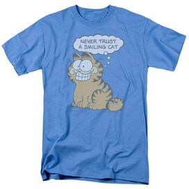 Garfield Smiling Cat Short Sleeve Adult Carolina T-Shirt