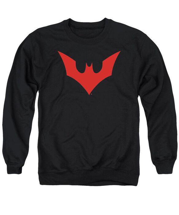 Batman Beyond Beyond Bat Logo Adult Crewneck Sweatshirt