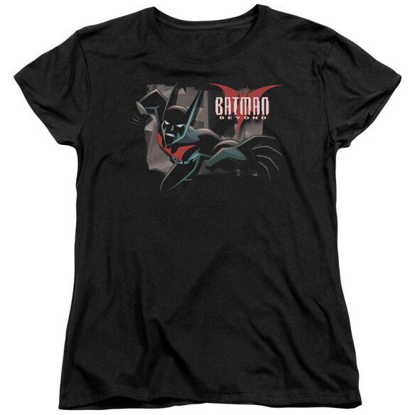 Batman Beyond Out Of The Frame Short Sleeve Womens Tee T-Shirt