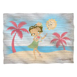 Betty Boop Hula Boop (Front Back Print) Pillow Case