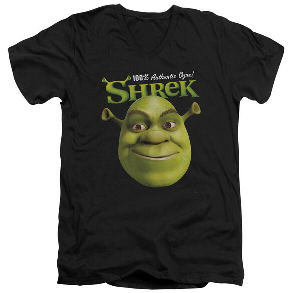 Shrek Authentic Short Sleeve Adult V Neck T-Shirt