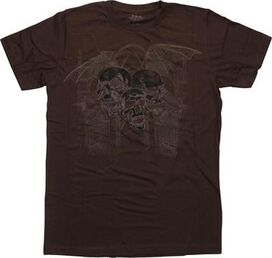 Ink Syndicate Winged Skull T-Shirt Sheer