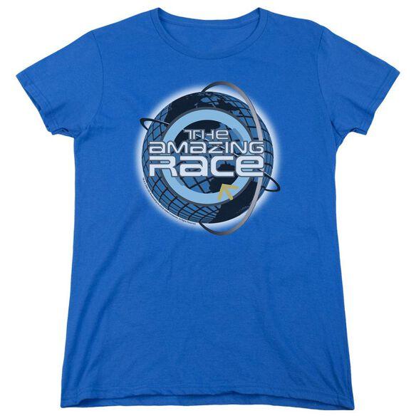 AMAZING RACE AROUND THE GLOBE-S/S WOMENS T-Shirt