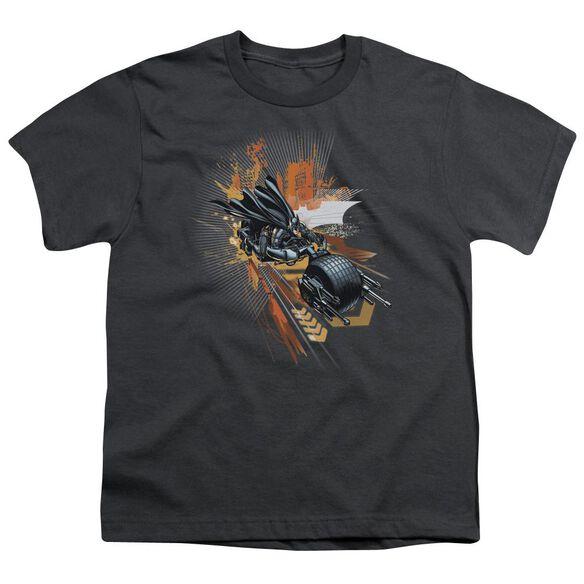 Dark Knight Rises Batpod Short Sleeve Youth T-Shirt