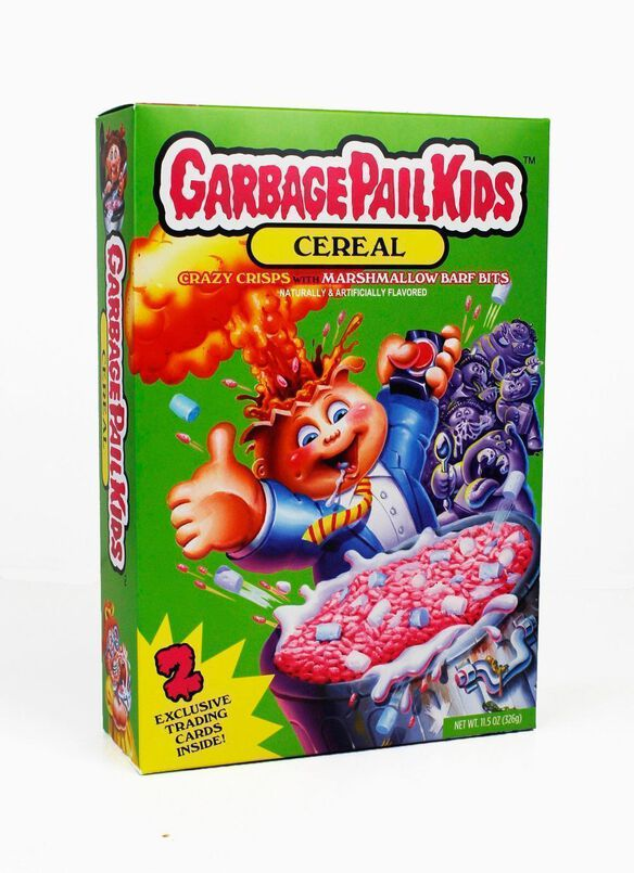 Garbage Pail Kids Barf Bits Cereal