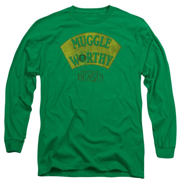 Fantastic Beasts Muggle Worthy Long Sleeve Adult Kelly T-Shirt