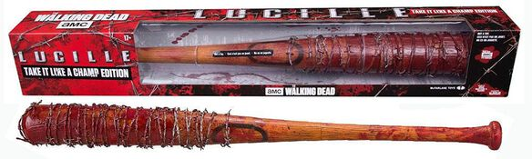 The Walking Dead: Negan's Lucille Bat - Take it like a champ edition