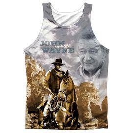 John Wayne Ride Em Cowboy Adult 100% Poly Tank Top
