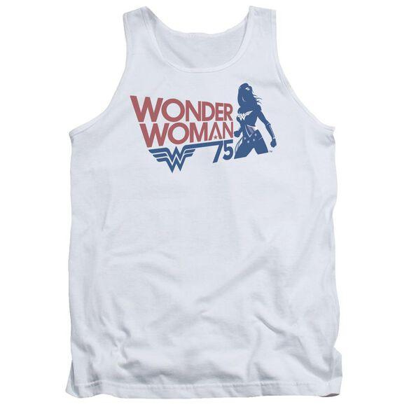 Wonder Woman Ww75 Silhouette Adult Tank