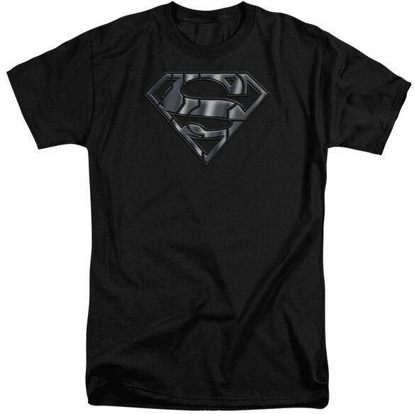 Superman Mech Shield Short Sleeve Adult Tall T-Shirt