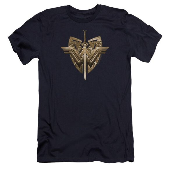 Wonder Woman Movie Sword Emblem Hbo Short Sleeve Adult T-Shirt