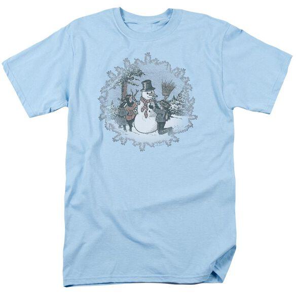 LET IT SNOW - ADULT 18/1 - LIGHT BLUE T-Shirt