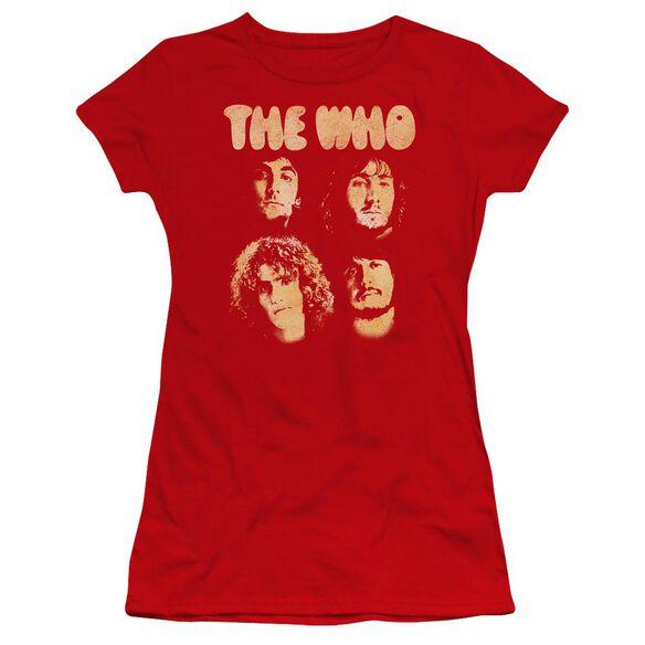 The Who Who Boys Premium Bella Junior Sheer Jersey