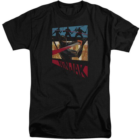 Ninjak Panel Short Sleeve Adult Tall T-Shirt