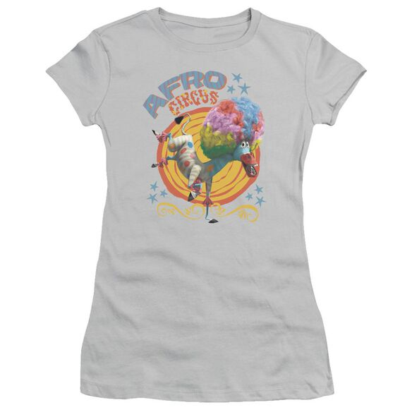 Madagascar Afro Circus Short Sleeve Junior Sheer T-Shirt