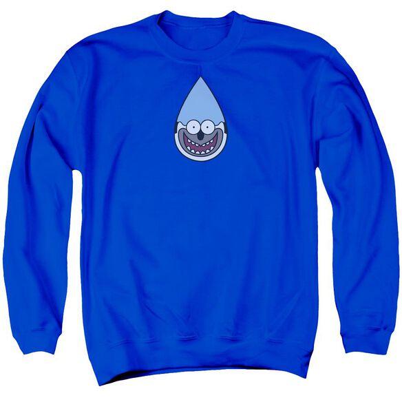 Regular Show Mordecai Adult Crewneck Sweatshirt Royal