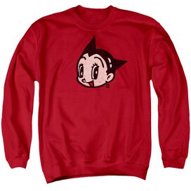 Astro Boy Face Adult Crewneck Sweatshirt