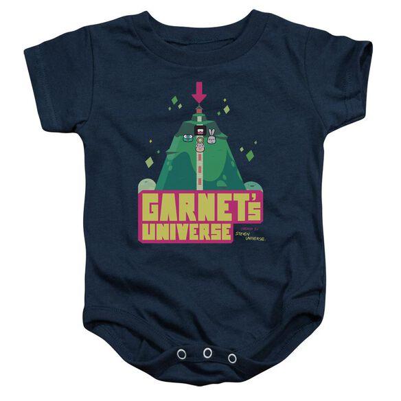 Steven Universe Garnet's Universe Infant Snapsuit Navy