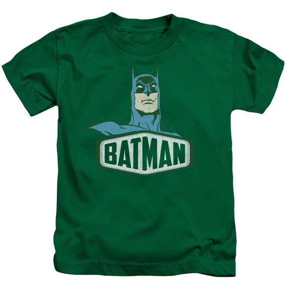 Dco Batman Sign Short Sleeve Juvenile Kelly Green Md T-Shirt
