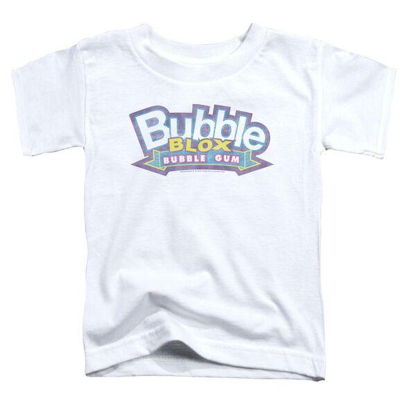 Dubble Bubble Bubble Blox Short Sleeve Toddler Tee White Lg T-Shirt