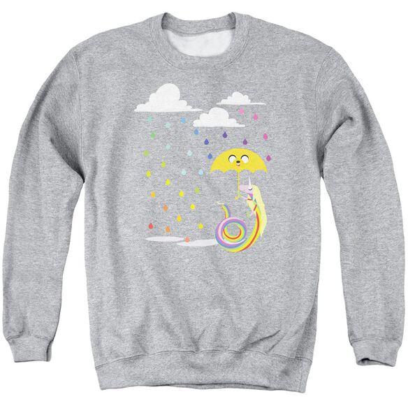 Adventure Time Lady In The Rain Adult Crewneck Sweatshirt Athletic