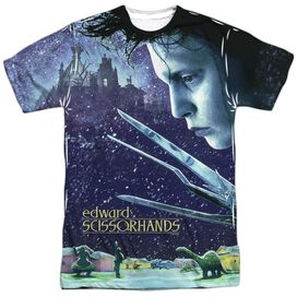 Edward Scissorhands Home Poster Short Sleeve Adult Poly Crew T-Shirt