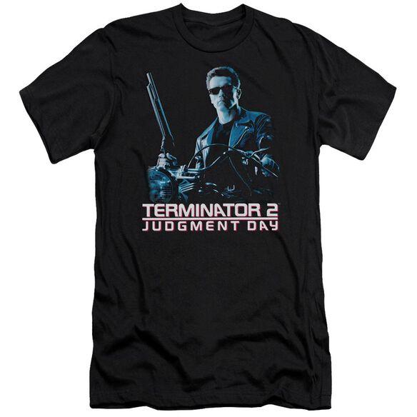 Terminator 2 Poster Premuim Canvas Adult Slim Fit
