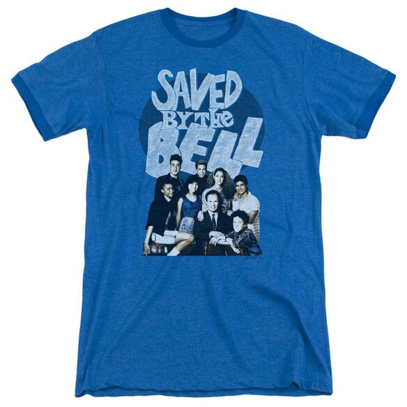 Saved By The Bell Retro Cast Adult Heather Ringer Royal Blue