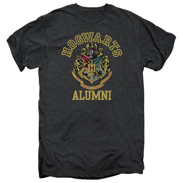 Harry Potter Hogwarts Alumni Short Sleeve Adult Premium Tee Smoke T-Shirt