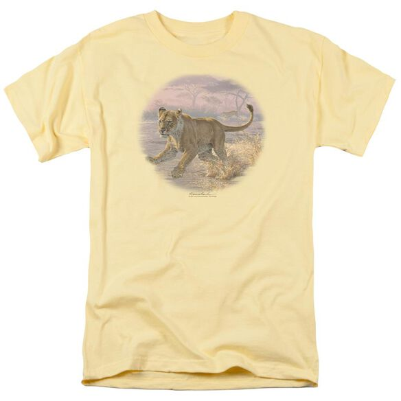 Wildlife Pandemonium Short Sleeve Adult Banana T-Shirt