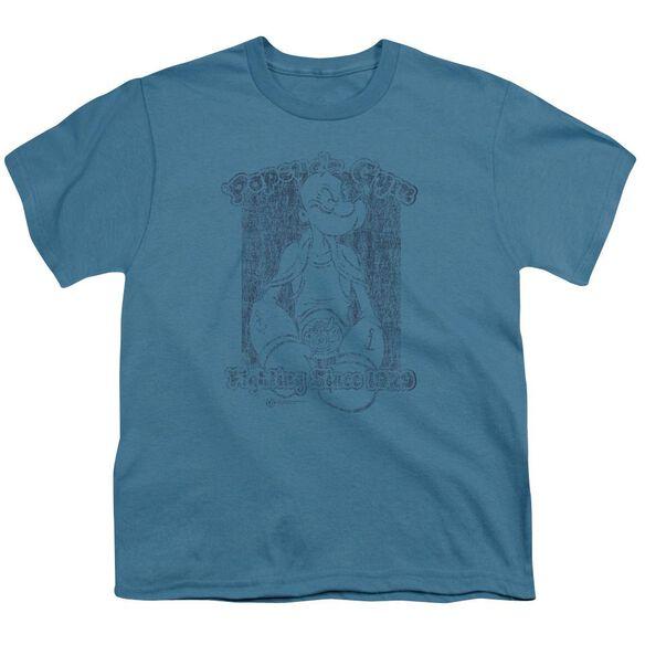 Popeye Popeye's Gym Short Sleeve Youth T-Shirt