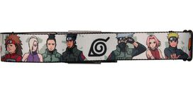 Naruto Characters Hidden Leaf Village Seatbelt Mesh Belt