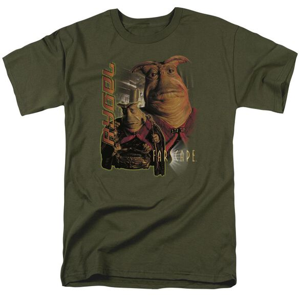 FARSCAPE RYGEL - S/S ADULT 18/1 - MILITARY GREEN T-Shirt