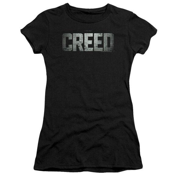 Creed Logo Premium Bella Junior Sheer Jersey
