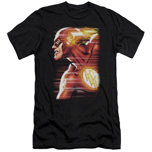 Jla Speed Head Short Sleeve Adult T-Shirt
