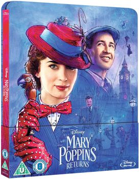 Mary Poppins Returns [Limited Edition Blu-ray Steelbook]