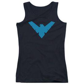 Batman Nightwing Symbol Juniors Tank Top